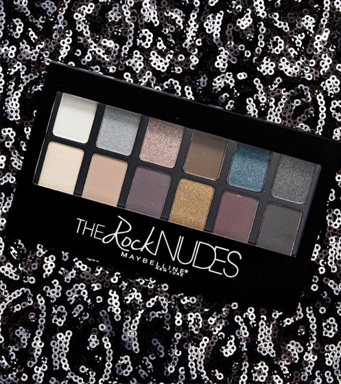 Тени The Rock Nudes Maybelline New York