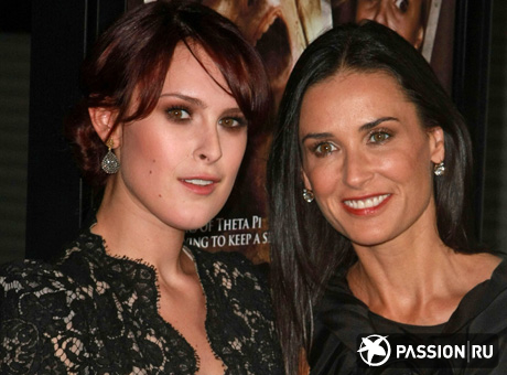 Деми Мур (Demi Moore) и Румер Уиллис (Rumer Willis) / splashnews.com