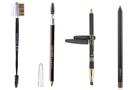 Брови: уход, форма, укладка / Brows & Lashes Rouge Bunny Rouge, Yves Rocher Couleurs, Chanel Sculpte Sourcils, Brow pencil Taupe M.A.C.