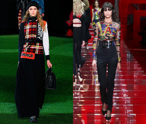 Marc by Marc Jacobs, Versace