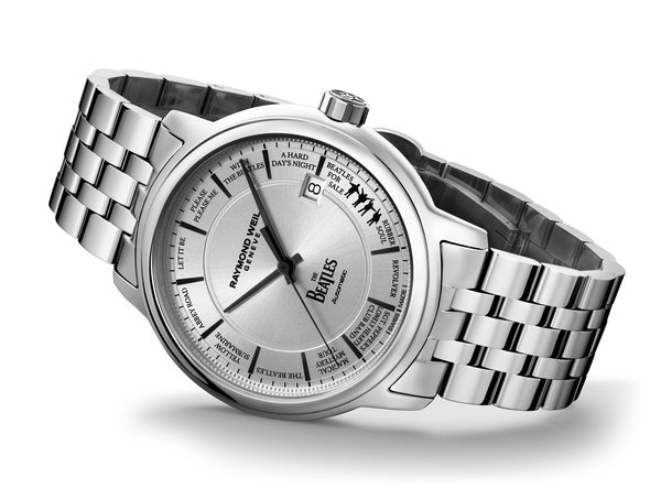 Часы The Beatles от Raymond Weil