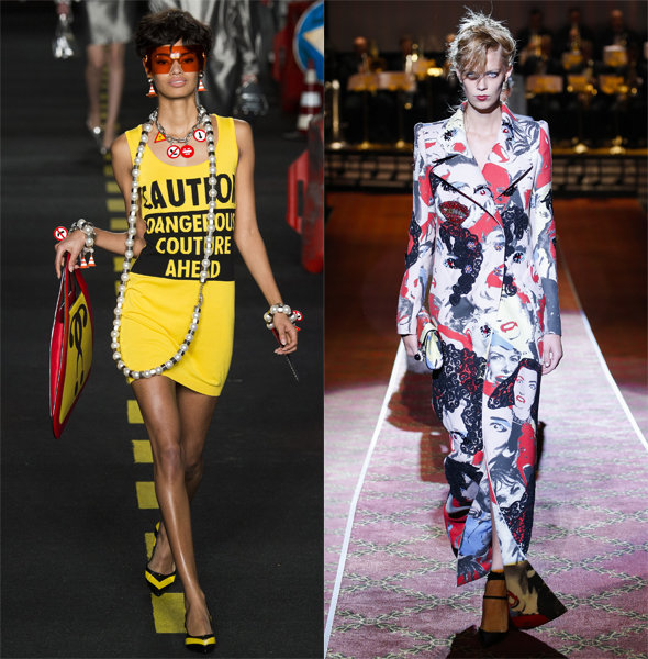 Moschino, Marc Jacobs