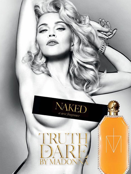 Мадонна - Truth or Dare Naked perfume