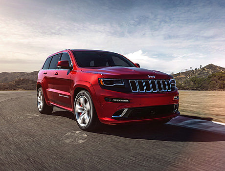 Тест-драйв Jeep Grand Cherokee SRT 8