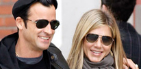 Джастин Теру (Justin Theroux) и Дженифер Энистон (Jennifer Aniston) / splashnews.com